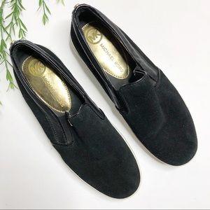 Michael Kors - Keaton Slip on Suede Sneakers